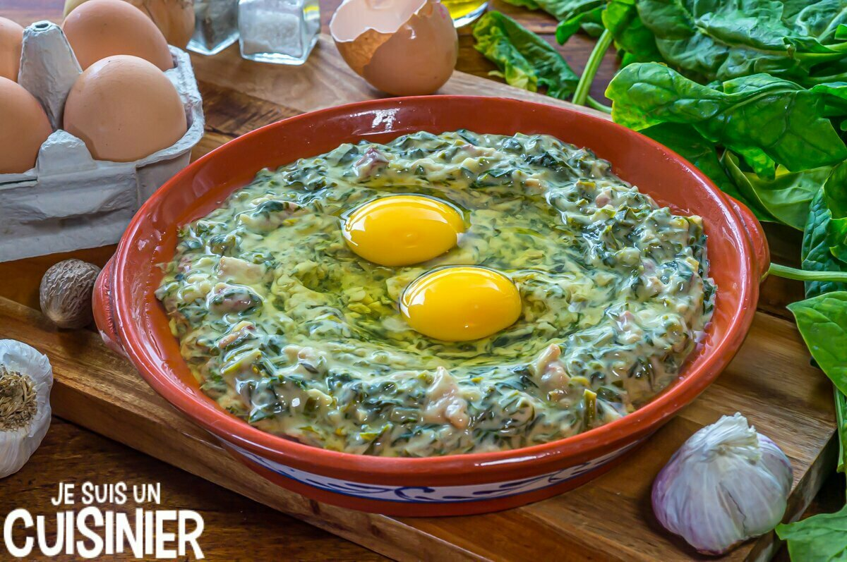 Comment faire œufs à la florentine avec des épinards