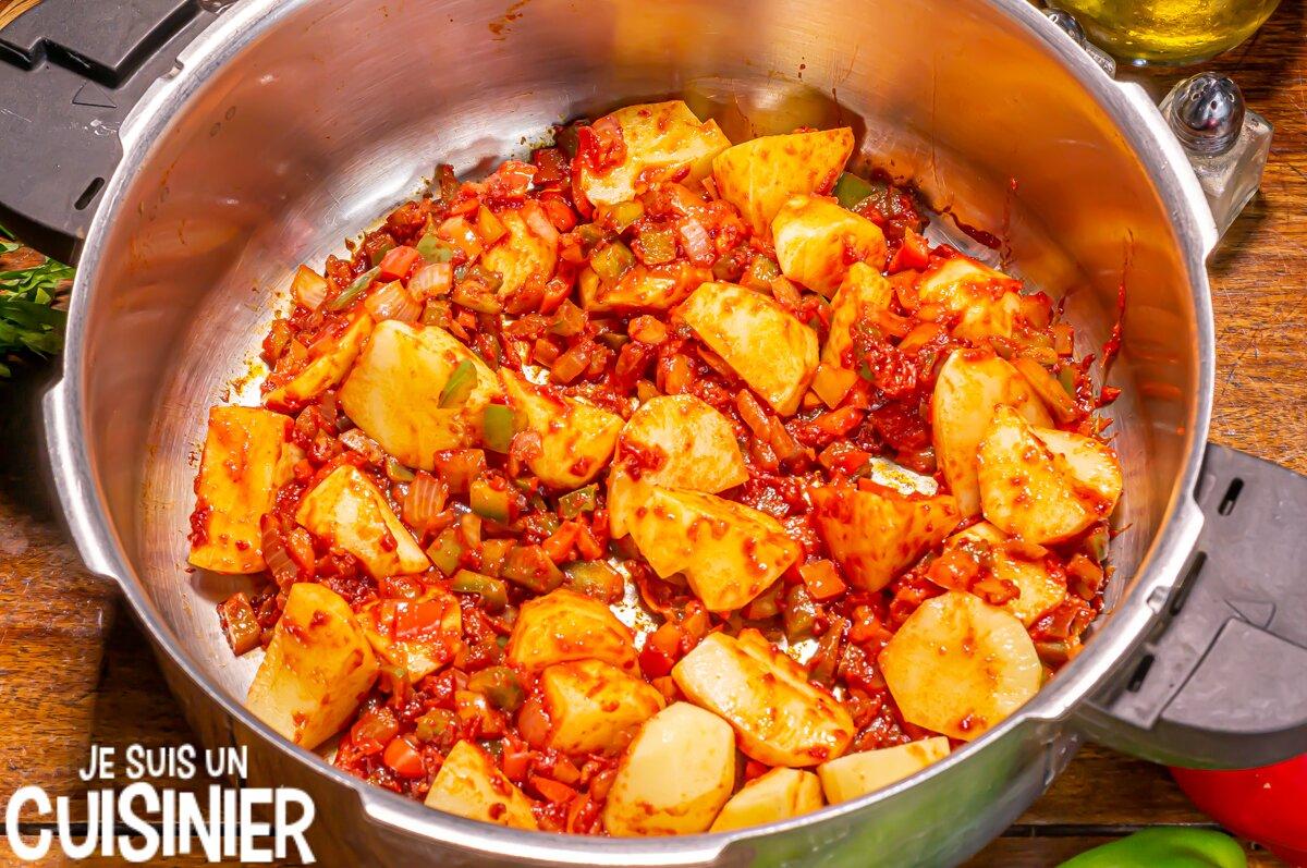 Marmitako de thon (pommes de terre)