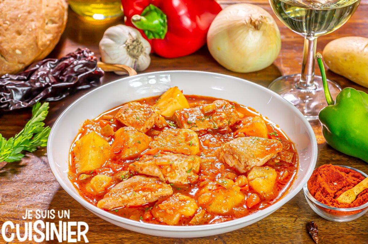 Marmitako de thon (recette traditionnelle)