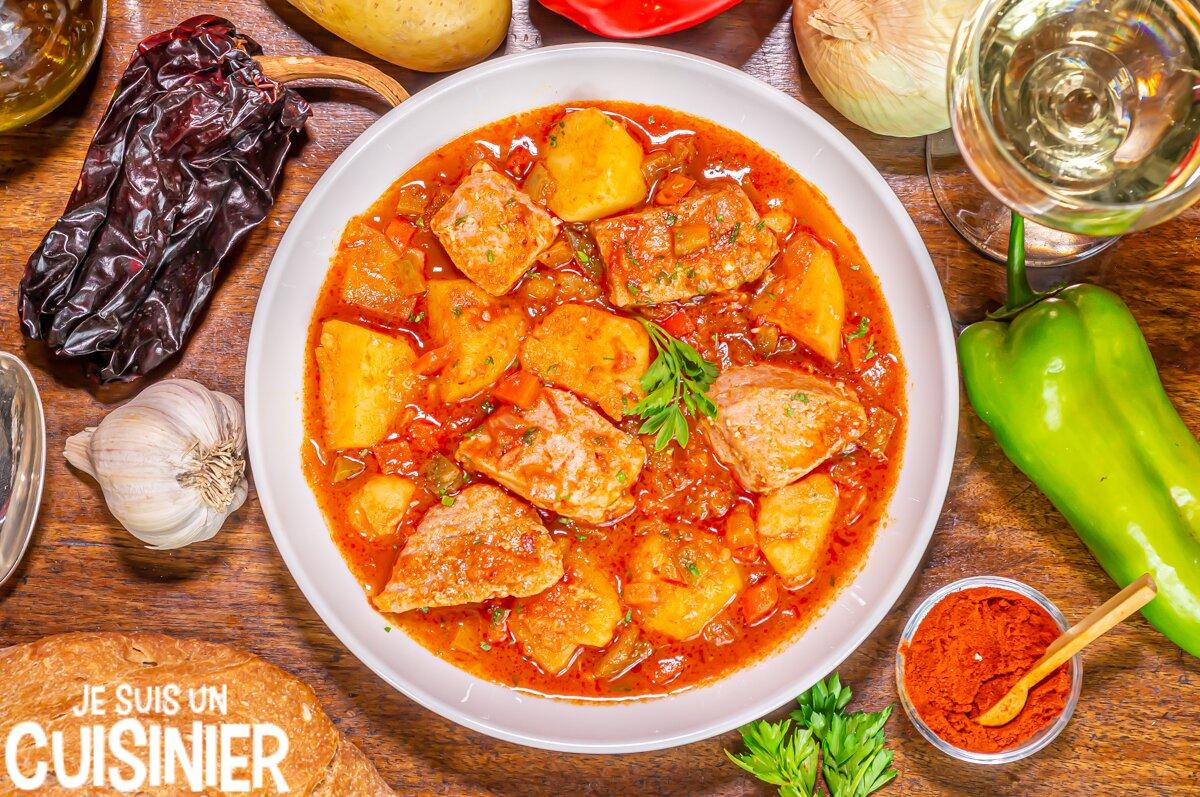 Recette traditionnelle marmitako de thon