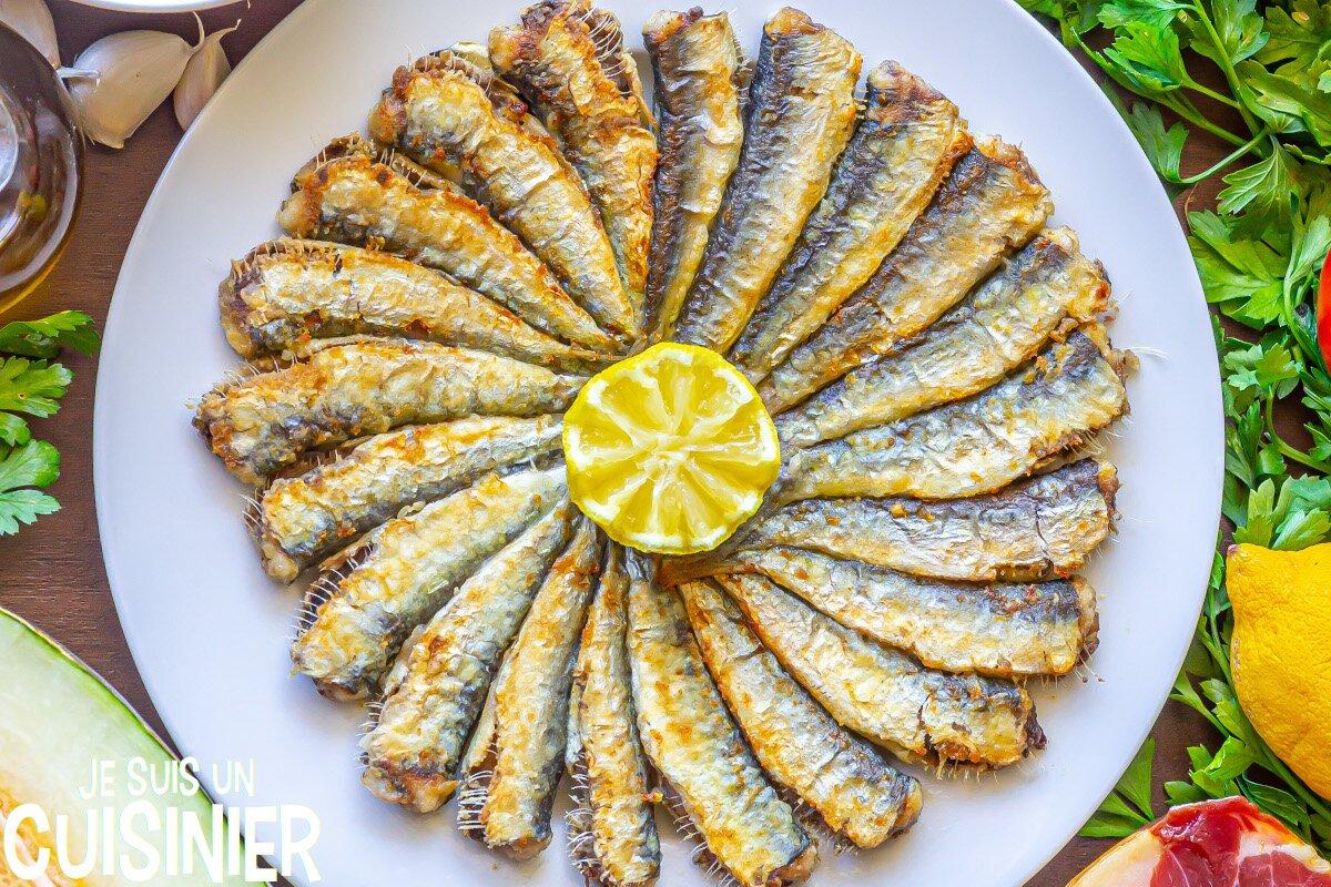 Sardines frites recette