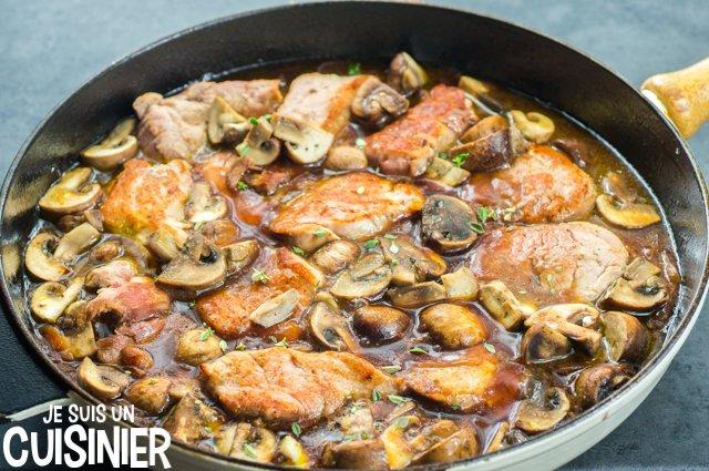 Comment faire filet mignon de porc au Porto et champignons