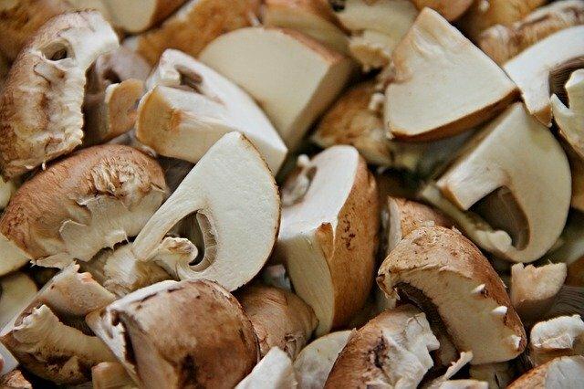 Paella au poulet et aux champignons (ingrédients)