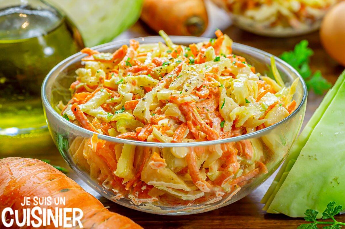 Coleslaw (salade de chou blanc)