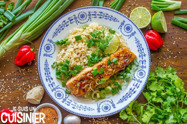 Recette saumon mariné sauce soja