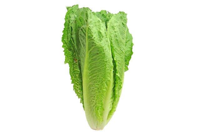 Salade César gourmande (laitue romaine)
